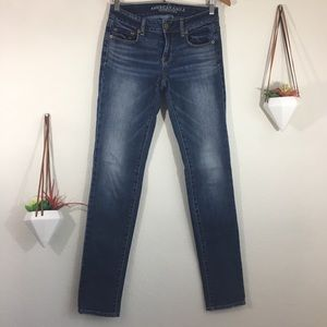 American Eagle Outfitters Skinny stretch long jean